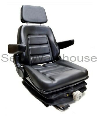 Low Profile Suspension Seat Mower Excavator Forklift Wheel Loader Dozer Vl