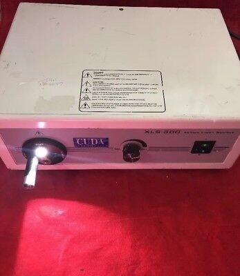 Cuda Fiberoptics Xenon Light Source Xls-300 Wolf Olympus Acmi Storz See Desc