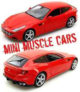 HOTWHEEL X5524 1:18 FERRARI FF RED SUPERCAR DIECAST CAR