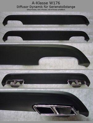 Mercedes Diffusor Modell Dynamik für AMG Styling A-Klasse W176 Ausgang li.re
