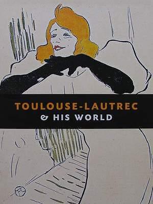 LIVRE/BOOK : TOULOUSE LAUTREC (au cabaret,le café concert,aux variétés,affiche