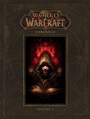 WORLD OF WARCRAFT CHRONICLE VOL #1 HARDCOVER Dark Horse Video Game Comics HC