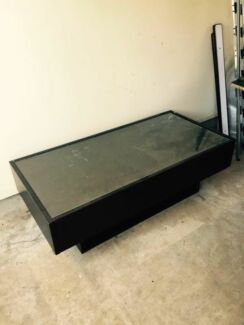 Ikea chocolate brown coffee table Colyton Penrith Area Preview