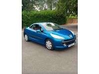 Peugeot 207 coupe convertible 1.6