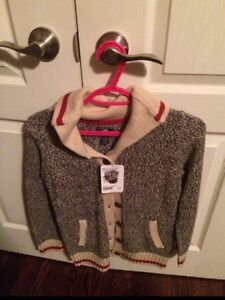 Roots Cabin Sweater-New with tags