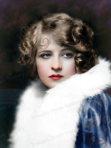 8x10 Print Myrna Darby Ziegfeld Follies Colorized Portrait #3273