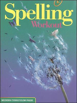 Grade 5 MCP Spelling Workout Level E Student Book 5th Modern Curriculum Press