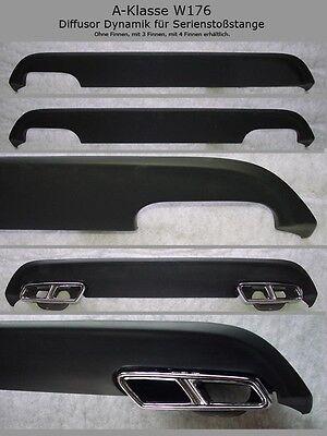 Mercedes Diffusor Dynamik für Serienstoßstange A-Klasse W176 Ausgang li.re E