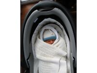 Britax pram attachment/ lie-down car-seat (Britax Baby-safe Sleeper- group 0 birth-6 months)