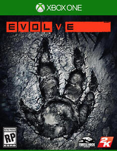 EVOLVE XBOX ONE BRAND NEW FACTORY SEALED !!