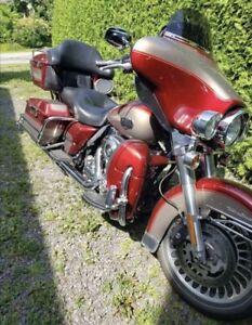 Moto Harley Electra Glide
