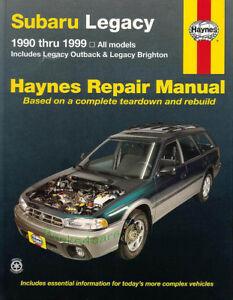 Subaru outback service manual ebay shop manual service repair legacy subaru outback haynes book gt chilton workshop fandeluxe Gallery