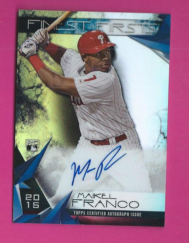 Maikel Franco Phillies 2013 Bowman Platinum Rookie Card rC Auto Signed QTY