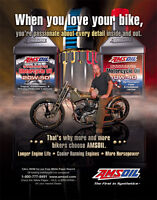 Amsoil High Quality Fully-Synthetic Lubricants