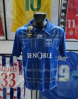 Football Jersey Shirt Maglia 10/11 2010 2011 Software, Aj Auxerre Aja Vintage M image