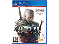 The Witcher 3 Wild Hunt, standard edition, PS4, for £10 collection only