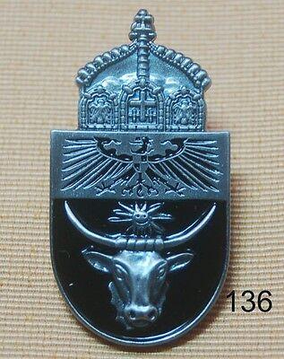 Deutsch Südwestafrika Kolonie Taurus Krone Adler Pin Button Anstecker Badge 136