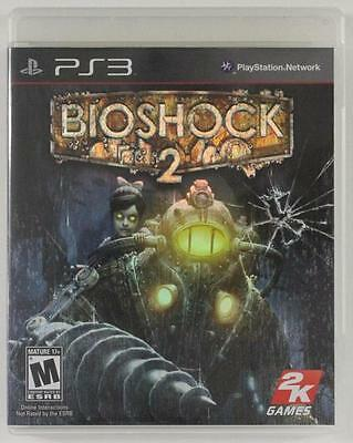 PS3 Sony Playstation Network 3 BIOSHOCK 2 2K Games