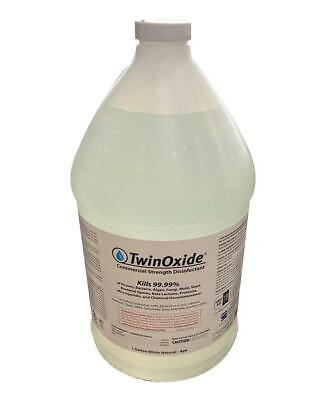 Twinoxide Commercial Grade Disinfectant Use With Sprayer Or Fogger 1 Gallon