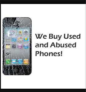 We will give you cash for your old phones!