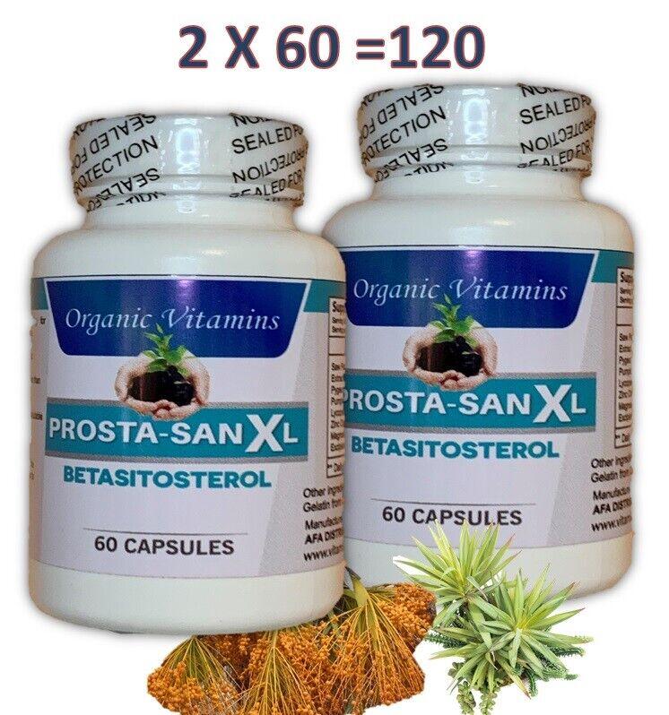 #1 Pastillas Medicamentos Naturales Para La Prostata.Inflamada Capsulas 120 caps