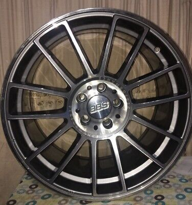 BBS  CM  Black with Machined Face  19x9.5  (+28)  5x112. Sale Is For 1 Only
