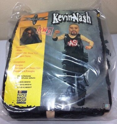 VTG WCW Halloween Costume Kevin Nash Wrestling 1999 WWF WWE NWO ECW](Wwf Wrestling Costumes)