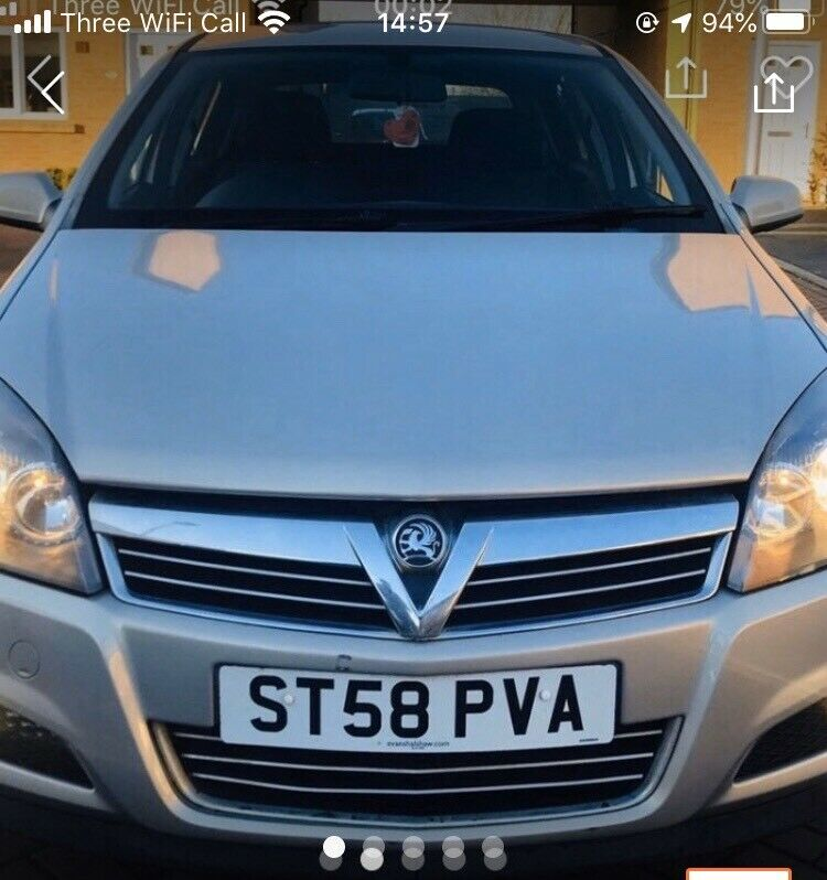 2009 58 Vauxhall Astra 1.4 sxi twinsport   in Sandwell ...
