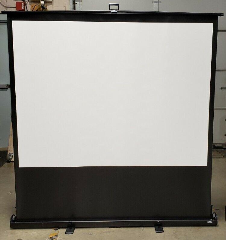 """Da-Lite Deluxe Insta-Theater 80"""" 4:3 Projector Screen"""