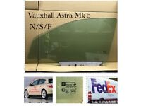 Vauxhall Astra. H. Window Glass. Side.