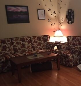 Matching Couch and chair 4 sale