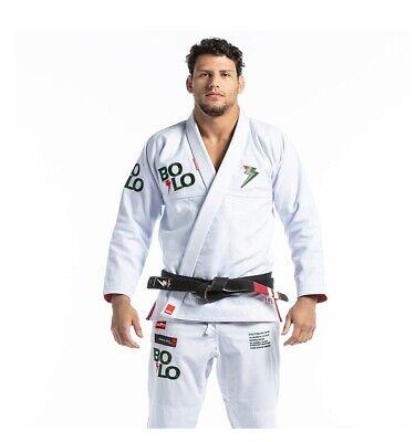 Storm Jiu-Jitsu Kimonos Stealth Bolo White Kimono Gi Jiujitsu Uniform BJJ A4