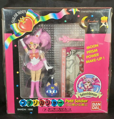 Excellent Petit Soldier Sailor Chibi Moon Action Figure Doll Moon Petite Bandai