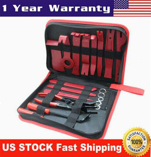 Car Parts - 19x Car Dash Parts Panel Repair Tool Kits Fastener Remover Tools Car Accessories
