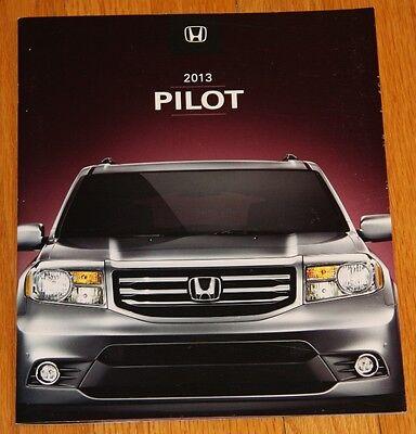 2013 HONDA Pilot and Honda Accessories Brochures - Mint