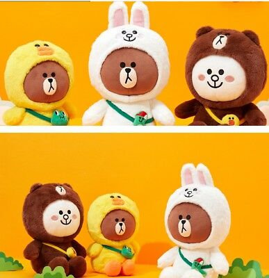 [LINE Friends]Brown Cony Sally Mix and Match Dress Costume 25cm 9.8