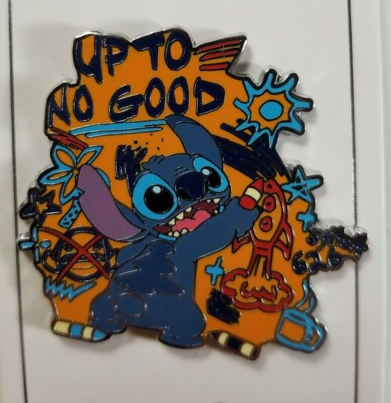 Disney Pin 2018 - Parks Collection WDW - Stitch Up to No Good #128126 NEW w/CARD