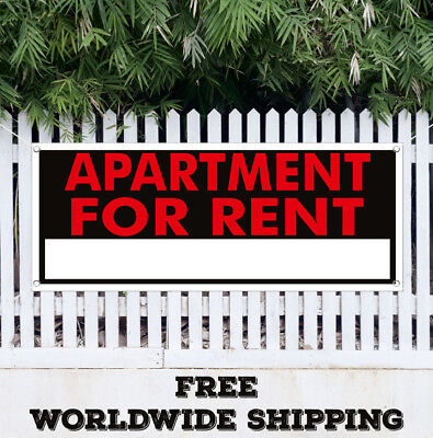 Banner Vinyl Apartment For Rent Advertising Flag Sign Lease Office Retail House