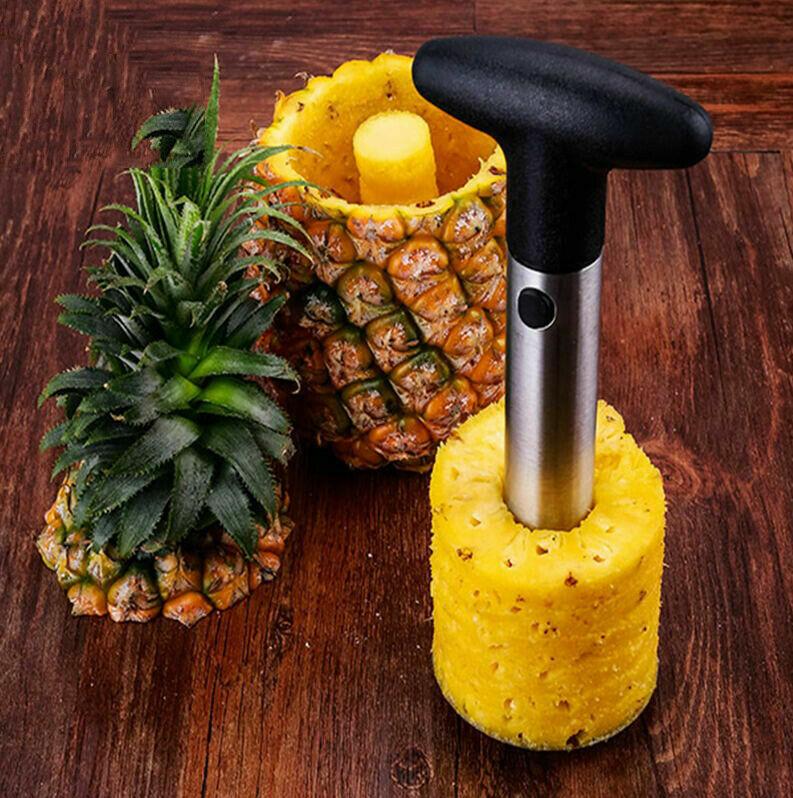 Pineapple Slicer Stainless Steel Cutter Kitchen Fruit Corer Peeler Remover 1pc