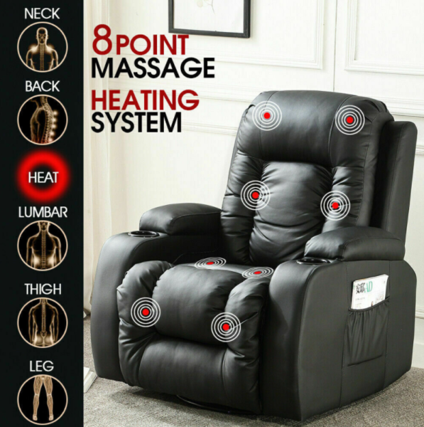 Electric Massage Chair Recliner Full Body Massage BRAND