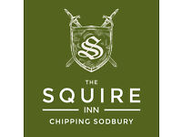 Assistant Manager - The Squire Inn, Chipping Sodbury £18-£22k+Tips+Potential Live In