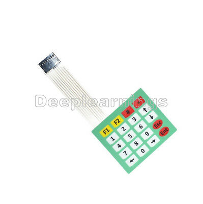 4x5 Matrix Array 20 Key Membrane Switch Keypad Keyboard 45 Keys For Arduino