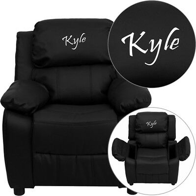 Kids Embroidered Chair (Flash Furniture kids embroidered recliner)
