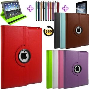 360-Degree-Rotatable-Leather-Case-Cover-For-iPad-4-3-2-with-Sleep-Wake