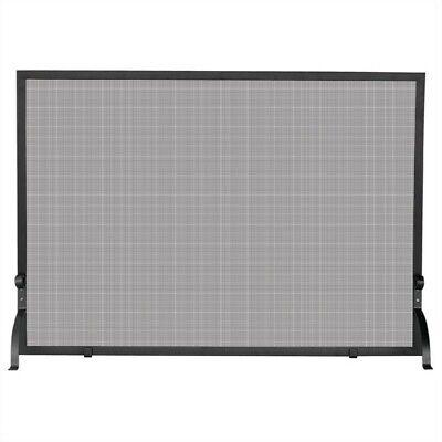 Uniflame Large Single Panel Olde World Iron Screen