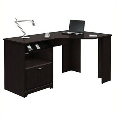 Bush Furniture Cabot Corner Desk in Espresso Oak Bush Furniture Oak Desk