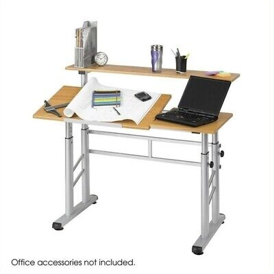 Scranton Co Height Adjustable Split Level Drafting Table