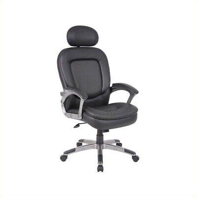 Boss Executive Pillow Top Chair W, Headrest BSEB7101