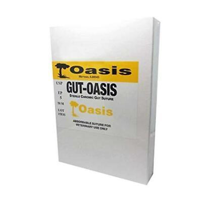 Oasis Veterinary Chromic Gut Suture Cassette Size 2 50m