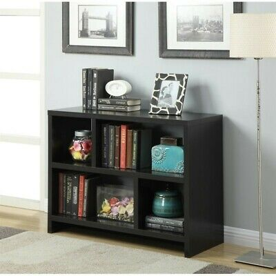 Scranton & Co Bookend Console Table in Espresso